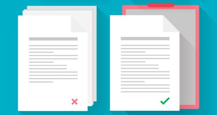 como elaborar documentos internos